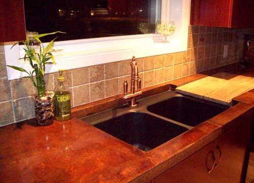 comptoirs de beton com et silex b ton d coratif. Black Bedroom Furniture Sets. Home Design Ideas